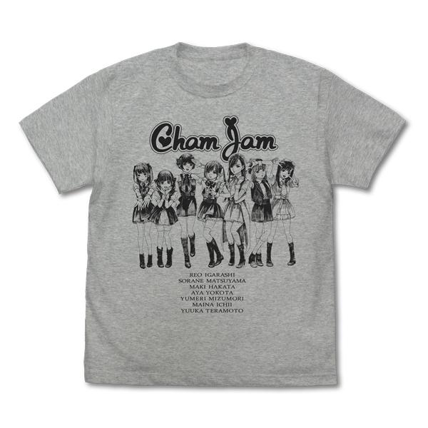 chamjamメンバーTシャツ